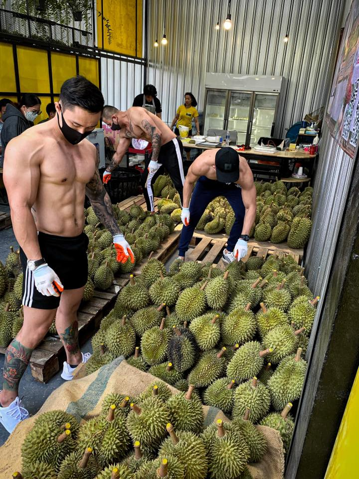 bsamfruit durian delivery hunks
