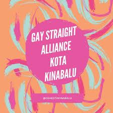 Gay Straight Alliance Kota Kinabalu logo