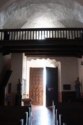 Entrance to the Loreto Chapel