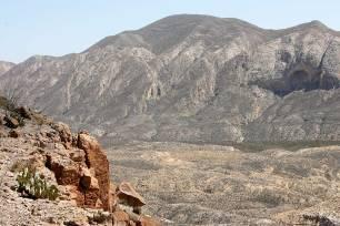 View across Fresno Canyon