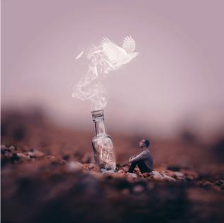 Messenger In A Bottle (1936) por Joel Robinson