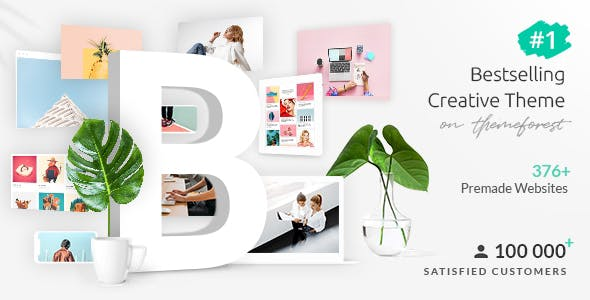 Bridge – Creative Multipurpose WordPress Theme