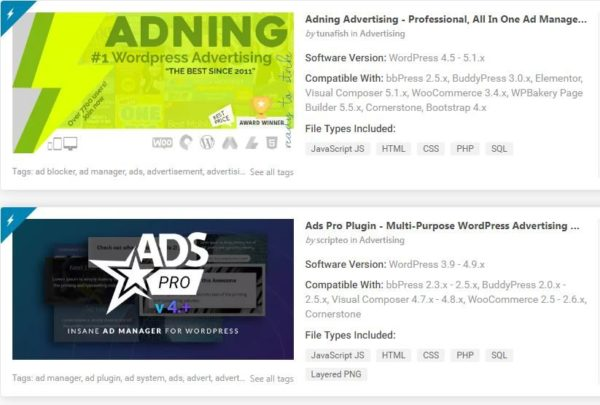 Top Advertising Plugins for WordPress