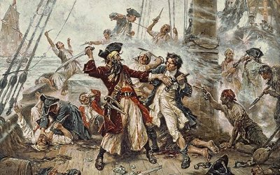 19: The Golden Age of Piracy, Part II: Strike the Colors