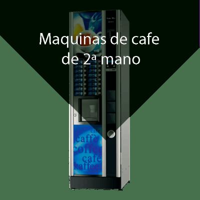 Maquinas vending cafe 2ª mano