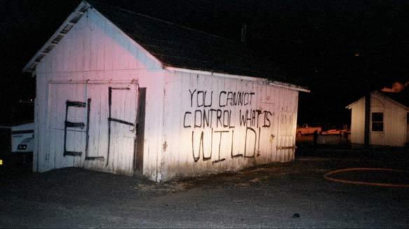 eco terrorism slogans