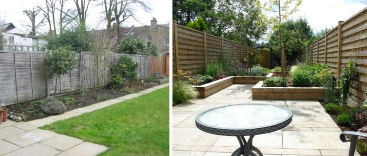 Gestaltungsideen für Terrasse und Garten – Vorher-Nachher