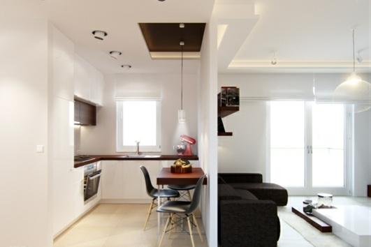 Kleine Küche Einrichten U2013 Tipps Für Raumverteilung Und Farben