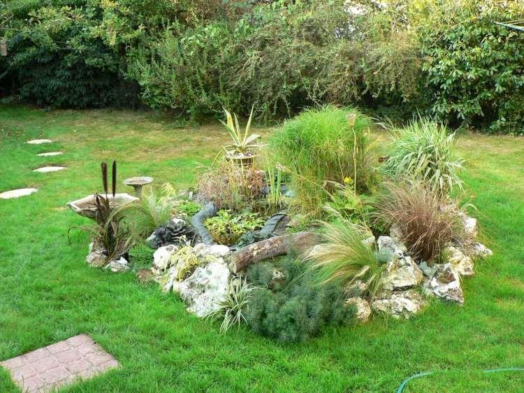 Grser Im Garten Gestaltungsideen A 25 Legjobb Tlet A