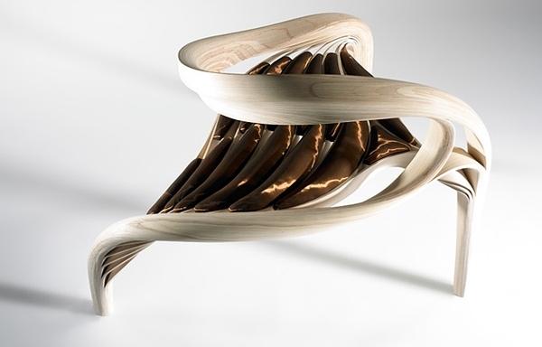 Erstaunliche Designer Holzm246bel vereinen Skulptur und
