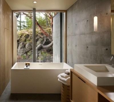 badezimmer ohne fliesen - ideen für fliesenfreie wandgestaltung