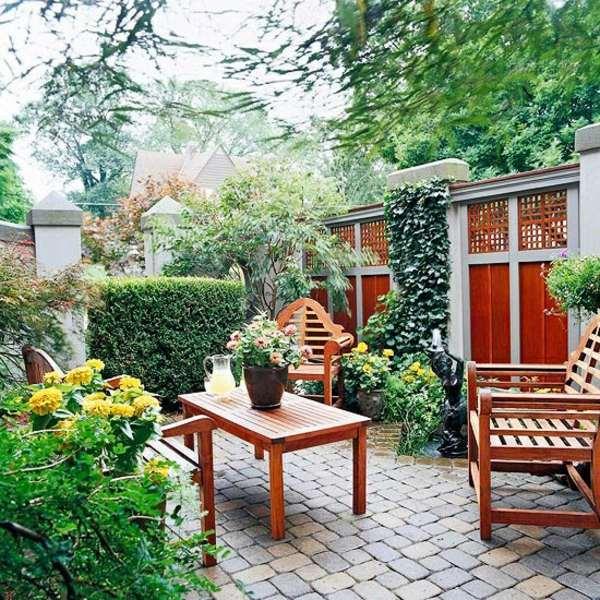 Sichtschutz Zaun Oder Gartenmauer 102 Ideen Fr