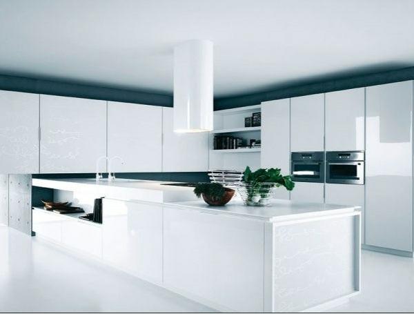 Moderne Hochglanz Küchen mit italienischem Design