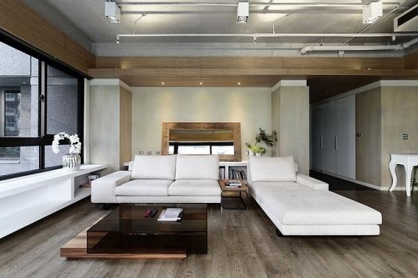 Interieur Design In Moderner Wohnung Im Urbanen Stil