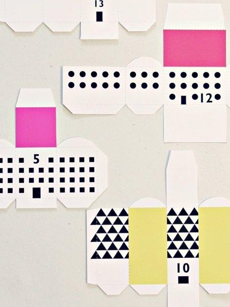 Adventskalender basteln - 36 Ideen, leicht selbst gemacht