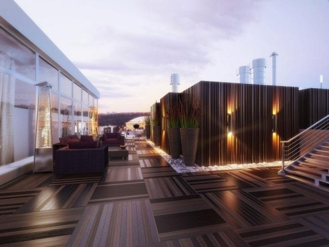 Luxus Penthouse Wohnung Mit Eigener Dachterrasse Und Blick