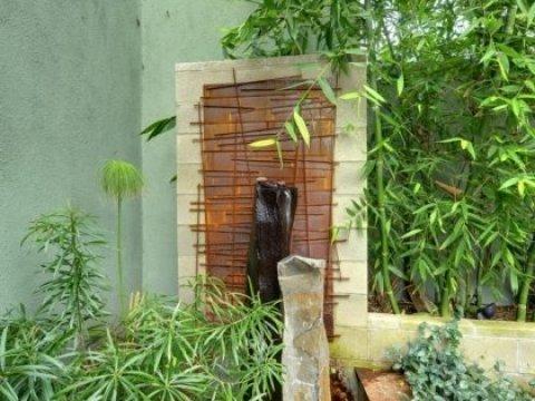 gartenbrunnen modernes design brunnen und wasserspiele im garten selber bauen -  bilder