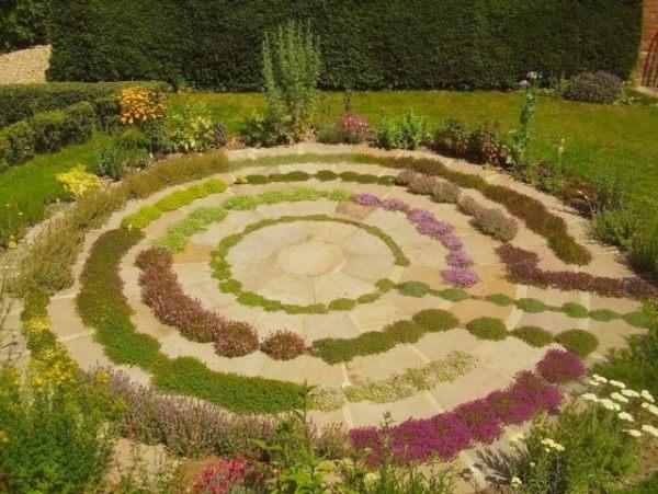 labyrinth flower garden designs 8 Tipps wie man ein Labyrinth oder einen Irrgarten selber