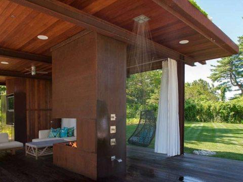 outdoor dusche selber bauen gartendusche bauen -  inspirierende gestaltungsideen für