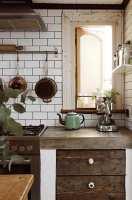 27 Küchen Ideen – rustikale Küche mit modernen Elementen