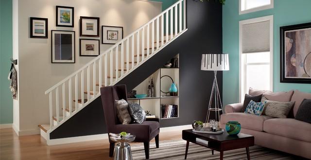 wohnzimmer wand grau streichen ihr traumhaus ideen. Black Bedroom Furniture Sets. Home Design Ideas