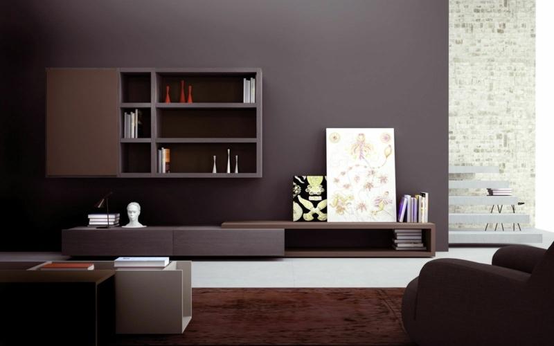 Die Graue Wandfarbe Im Wohnzimmer Top Trend Fr 2015