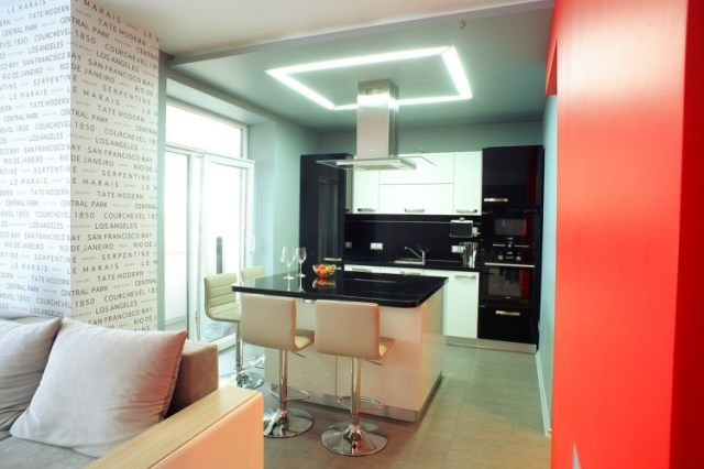 Farbe in der Küche - 30 Ideen für Wandfarben und Fronten