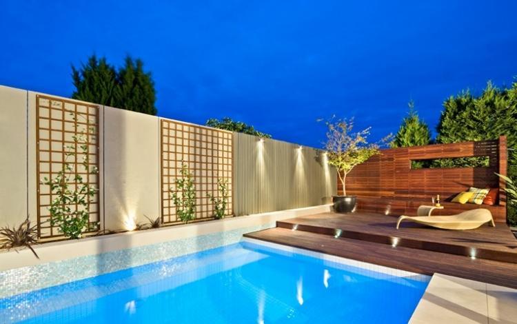 Garten Pool Projekte Von Landschaftsbauarchitekten OFTB