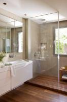 15 Beispiele für moderne Badgestaltung mit Glas Dusche