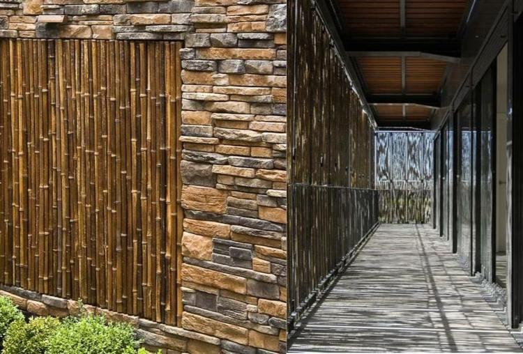 bambus sichtschutz originelle ideen fur innen und aussenraum