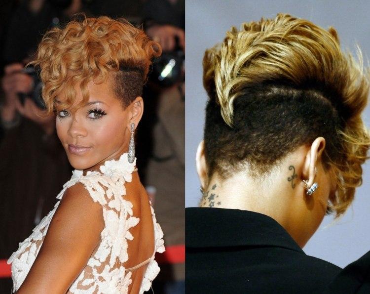 Rihanna Frisuren
