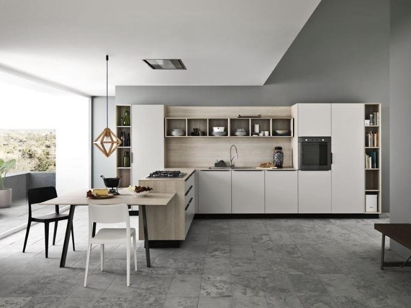 Einbaukche Mit Kochinsel 50 Moderne Designs
