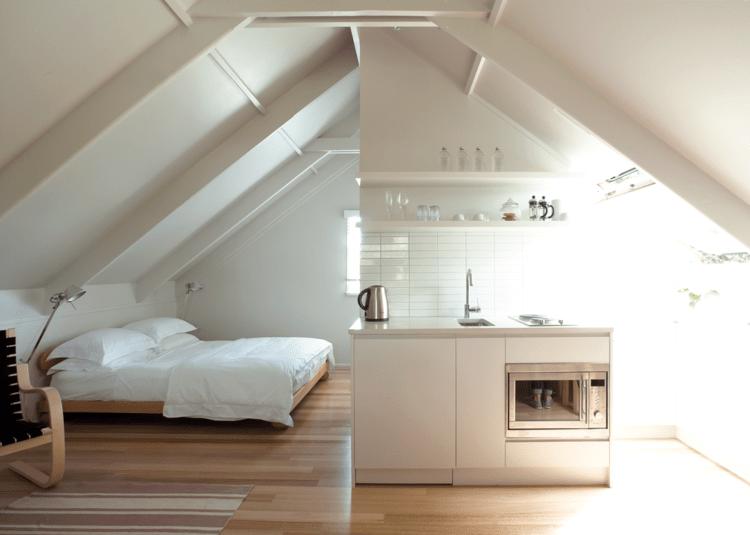 Wohnideen Mit Dachschrge In Kche Bad Wohn Amp Schlafzimmer