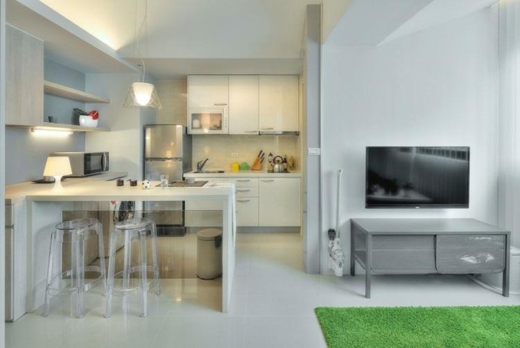 1 Zimmer Wohnung einrichten - 13 Apartments als Inspiration