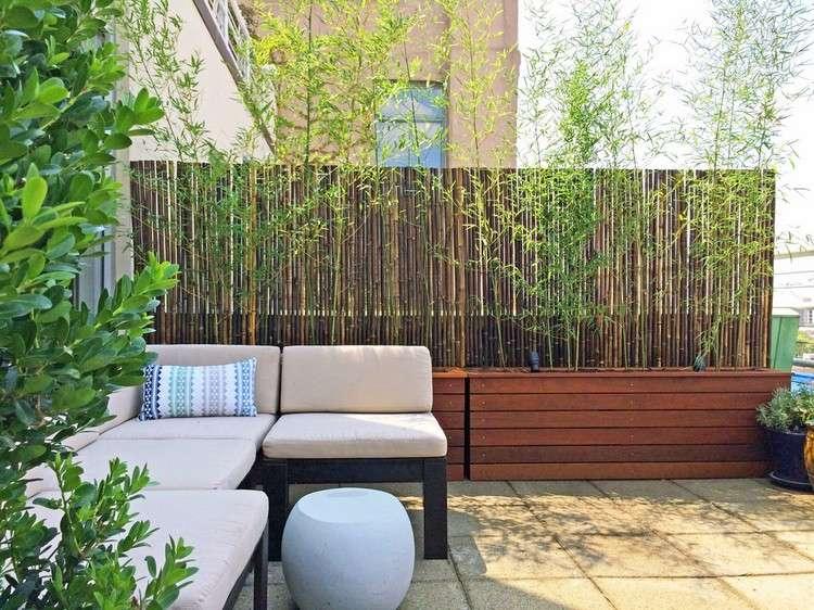Balkon Sichtschutz Aus Holz 50 Ideen Fr Balkongestaltung