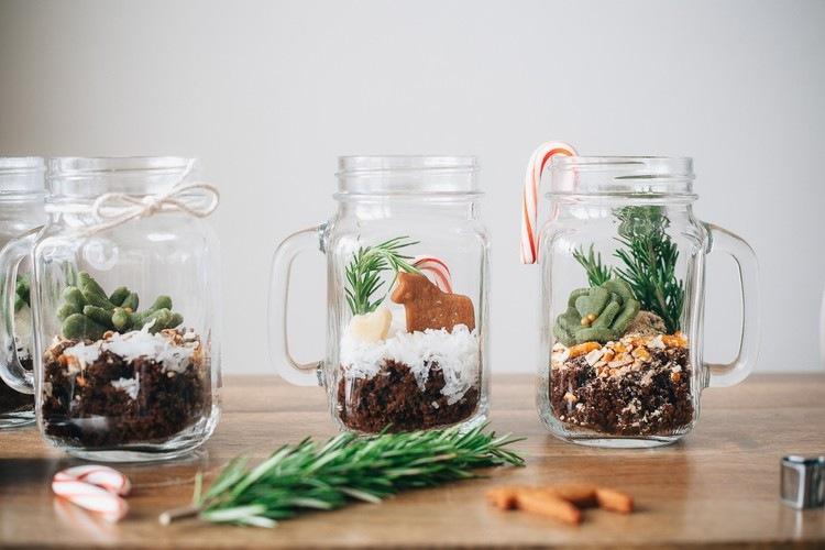 30 Weihnachtsdeko Ideen Im Glas Zum Selbermachen