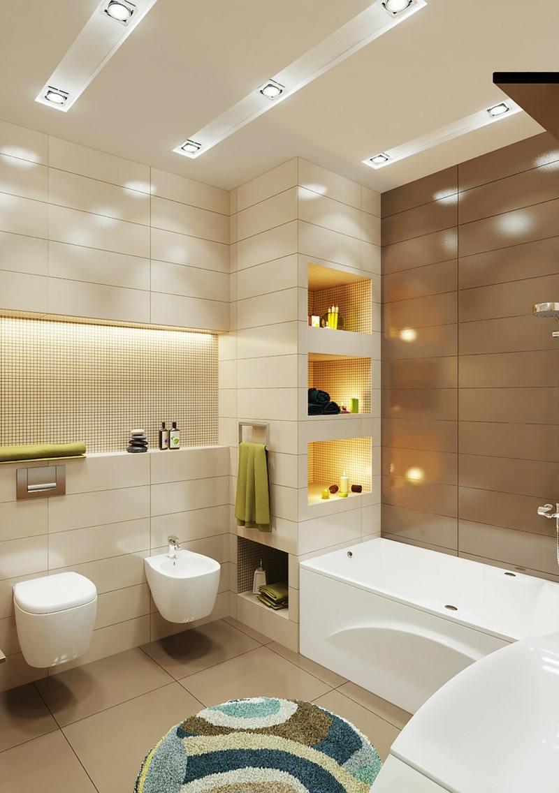 ein kleines badezimmer geraumig wirken