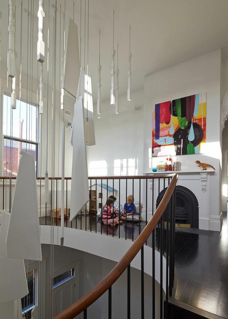 Moderne Wendeltreppe Aus Holz Fr Eleganz Im Haus