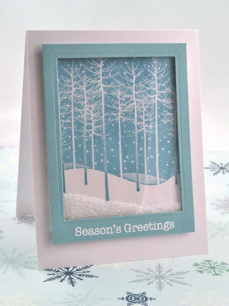 Weihnachtskarten Selber Basteln 55 Originelle Ideen