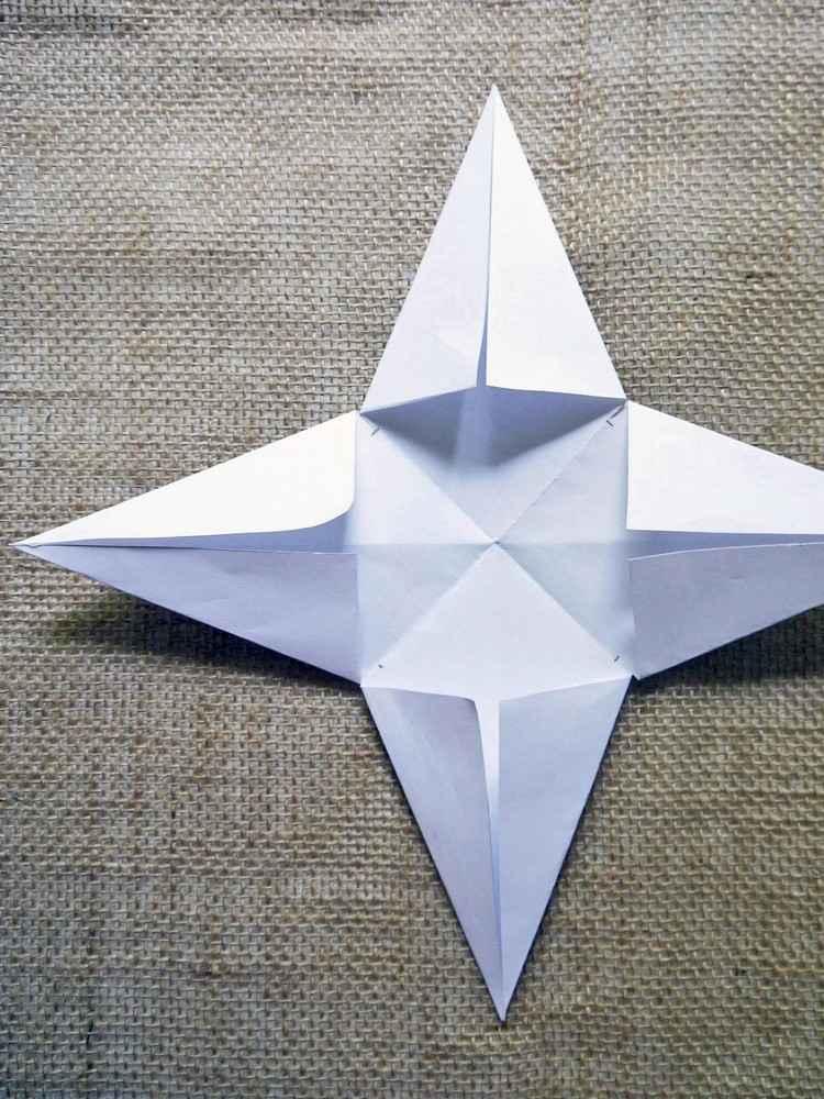 Weihnachtsstern Falten Anleitung 12 Best Sterne Falten