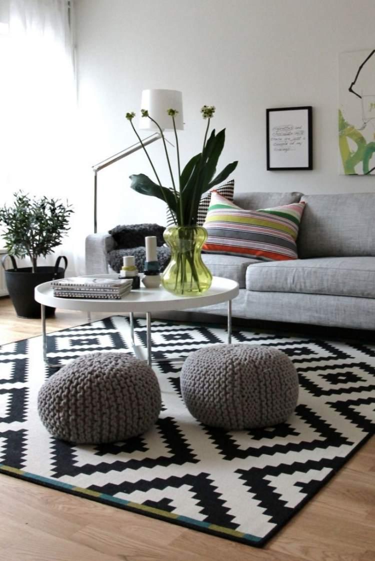 Deko Frs Wohnzimmer Im Skandinavischen Stil 38 Bilder