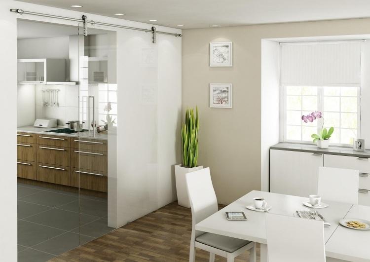 Schiebetür zwischen Küche und Wohnzimmer - 25 Tipps