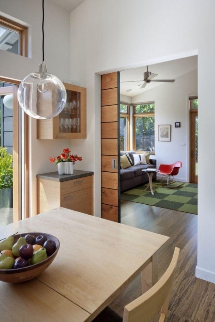 Schiebetr Zwischen Kche Und Wohnzimmer 25 Tipps