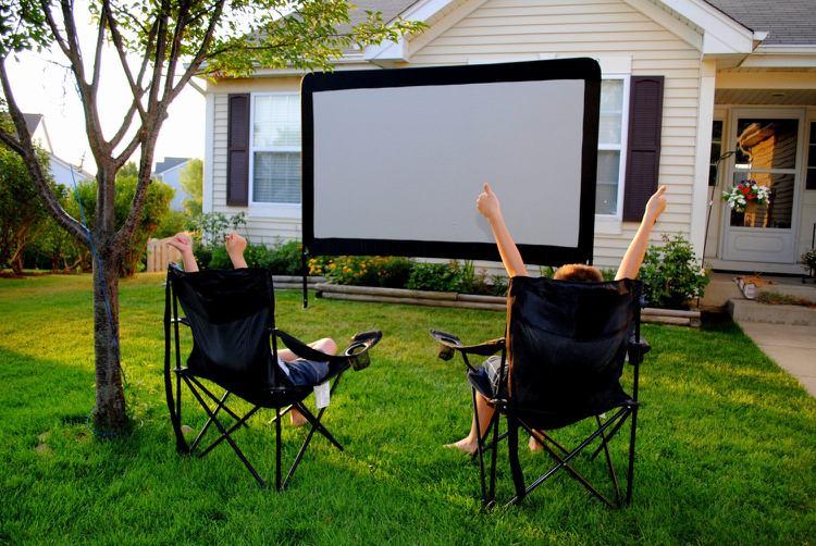 Open Air Kino Im Garten Selber Machen