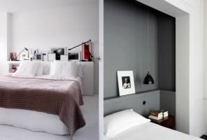 Bett mit Regal   20 Ideen mit integrierter Ablagefläche