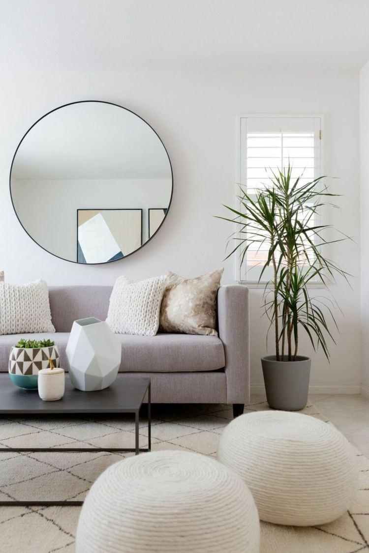 Spiegel im Wohnzimmer - Modelle und schöne Ideen für die Einrichtung