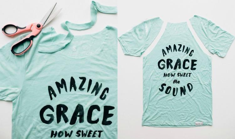 9 Upcycling Kleidung Ideen aus alten T-Shirts mit Anleitung