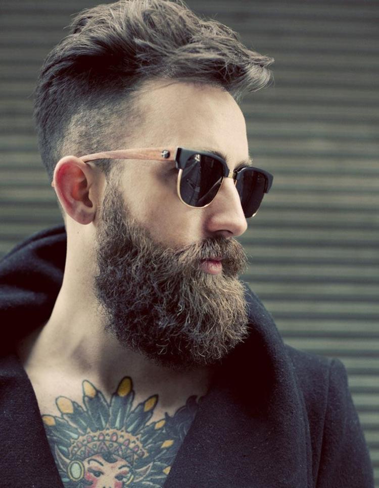 Hipster Bart Die Mnnlichste Souverne Und
