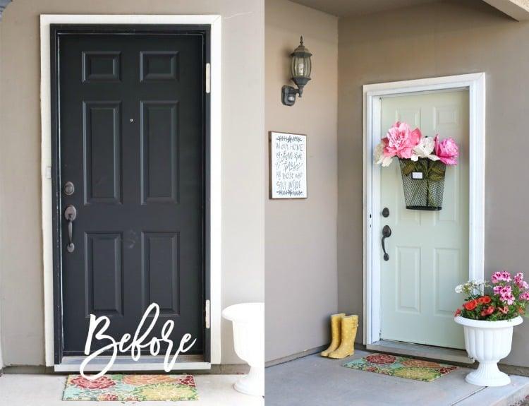 Alte Türen verschönern - 20 Tipps & Tricks zu Innentüren umgestalten