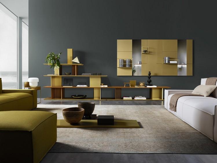 modulares wandregal aus metall praktische wandgestaltung fur wohnzimmer und kuche mobel 1 9